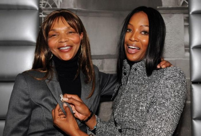 Naomi Campbell opens new cancer research unit Supermodel Naomi Campbell (right) with mother Valerie after she officially opened Breakthrough Breast Cancer's London research unit at Guy's Hospital, London.