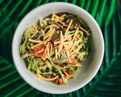 An Easy Zoodle Bowl That Will Make You Forget All About Pasta