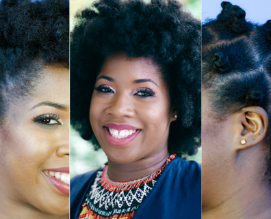 3 Gorgeous Natural Hair Styles For The Curly Or Kinky-Haired Woman
