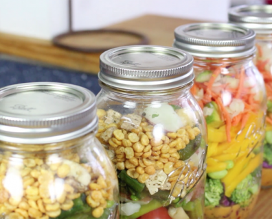 How To Pack A Perfect Salad In A Jar