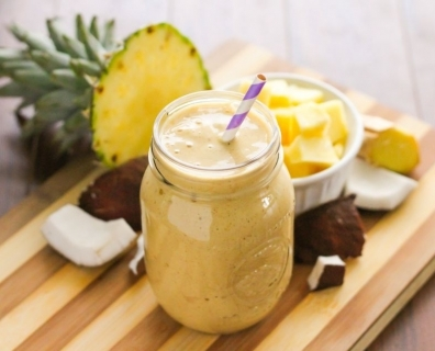 This Tropical Smoothie Is The Perfect Healthy Start To Your Day