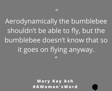 Mary Kay Ash on Flying Unquestionably