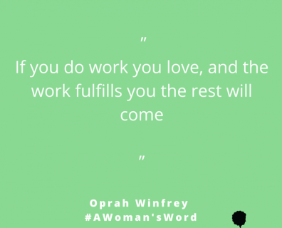 Oprah Winfrey on Doing What You Love