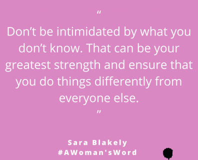 Sara Blakely on Using Ignorance as an Asset