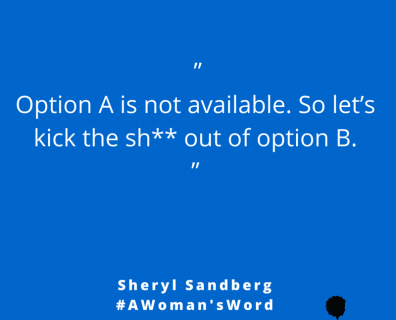Sheryl Sandberg on Winning with Plan B