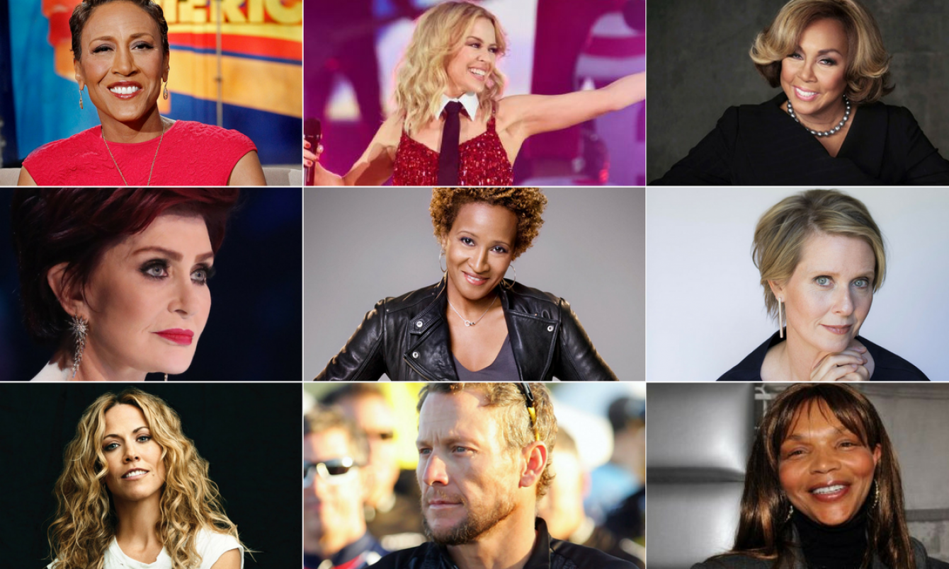 Surviving Cancer: How Living With The Illness Changed These Celebrities' Lives