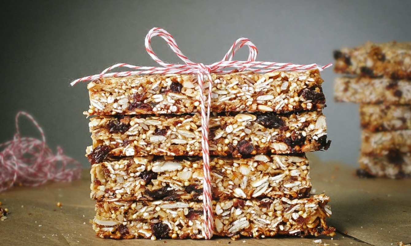 Oatmeal In Your Morning Energy Bar? Here's One Recipe You'll Love