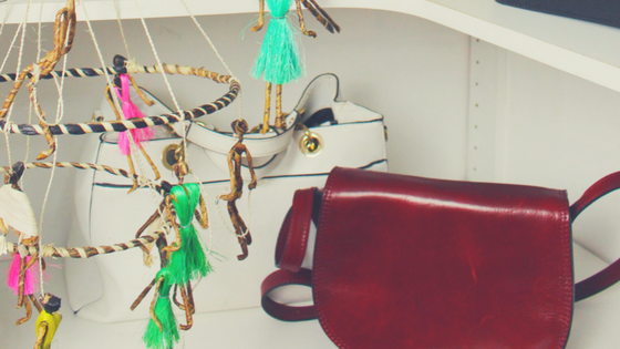 Styling your wardrobe and handbags