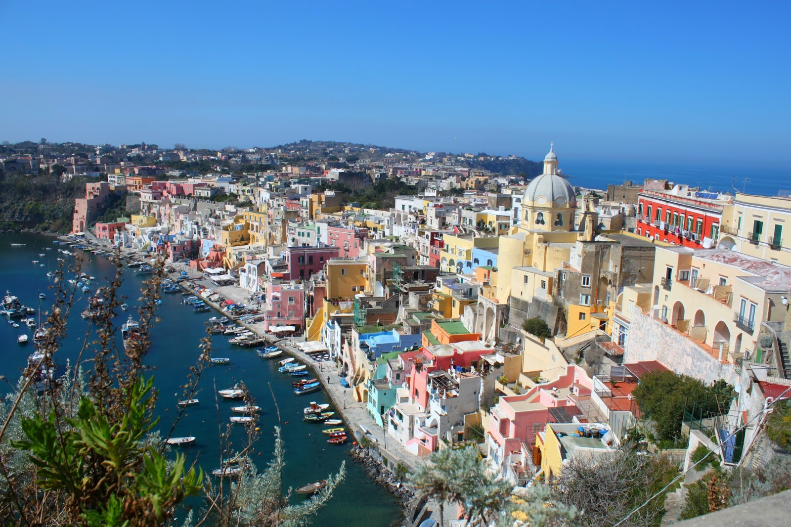 Where on earth is Procida?
