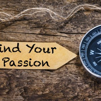 Clock With tag Find Your Passion